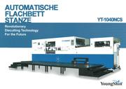 Automatische Flachbettstanze YT-1040NCS