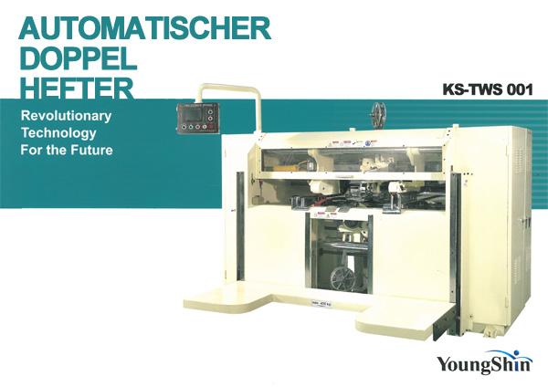 Automatischer Doppelhefter KS-TWS-001