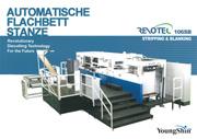 Automatische Flachbettstanze 106SB