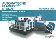 Automatische Flachbettstanze 170S