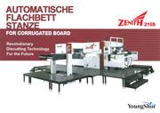 Automatische Flachbettstanze 210S