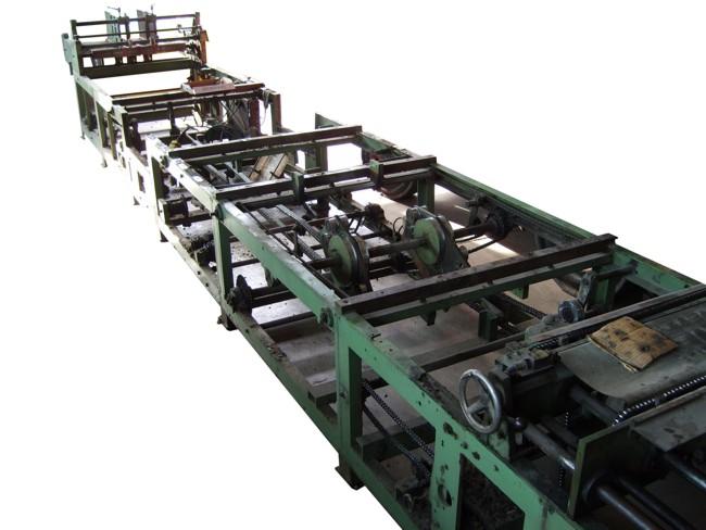 Escomat Karton-Falt- & Klebemaschine vor dem Umbau - Bild 1